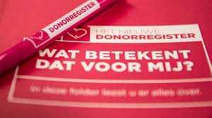Nieuwe donorwet van kracht: 'Overheid heeft geen oordeel over je keuze' -  RTV Noord